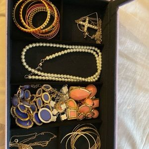 Jewelry - Entire box of bangles and necklaces